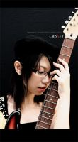 Me and my Guitar 1 by Crissey