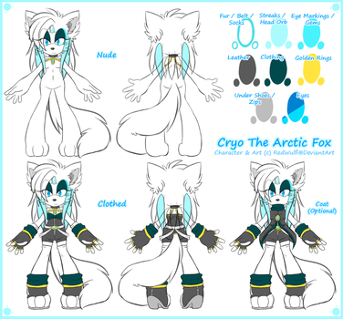 [Reference] Cryo The Arctic Fox 2014 by Lololol707