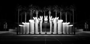 Urban Lights at LACMA by leographics