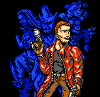 Our Team (GotG pixel art) by RedBlupi