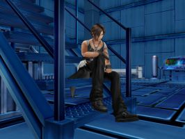 Squall by BlackKiba