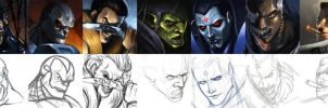CGP MARVEL ARTJAM ENTRIES by totmoartsstudio2