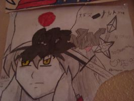no comment XP inuyasha by naruto-kira-lelouch
