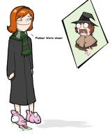 My sister failed Herbology... by alice-duckets