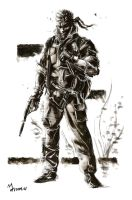 MGS3_Naked Snake by mansarali
