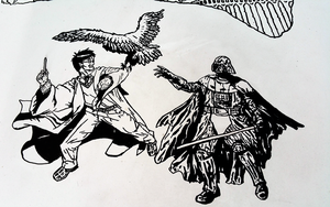 Completed Harry Potter Versus Darth Vader by AllHailZ