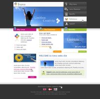 Web interface Ivevo 1 by outlines