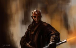 Darth Maul by chyhy