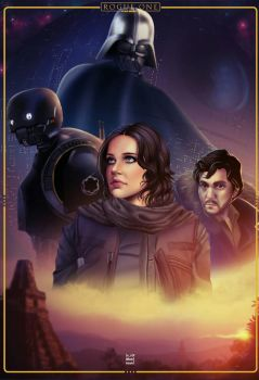 rogue one fan art by ishirinNOhana25