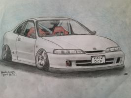Honda Integra Type R by CurtTheMadProfessor