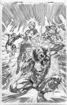 Legion Issue 2 cover pencils by Cinar