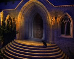 The Secret Cloister by MerlinsArtwork