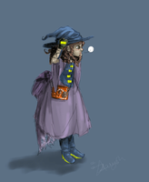 Akili the Little Witch by Asaryn