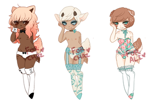 Dainty Customs for Chaz and Ali! by Kiwi-adopts