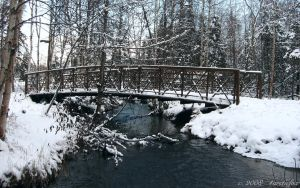 ALASKA BRIDGE TO WINTER by 1arcticfox