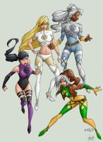 X-Women by hwoarang1986 by rkw0021