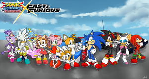 Sonic X Fast and Furious by benkomilk