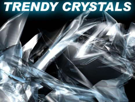 3dmax Trendy Crystals Tutorial by blackvulture