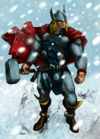 Thor by MCornelius by Sean-Loco-ODonnell
