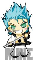 Chibi bleach Grimjowl by tachiik