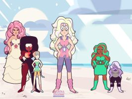 Parel had to jump in and make Rainbow Quartz by FairyTailKing