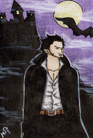 Mihawk the Vampire by MichaelSilverleaf