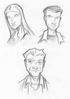Fringe Sketches by piotrov