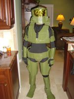 Master Chief in the flesh by Gubreez