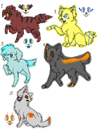Dog adoptables open! by firewolf180