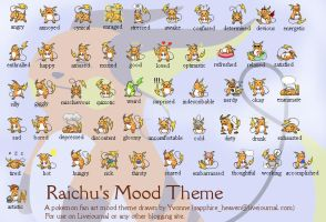 Raichu's Mood Theme by princess-phoenix