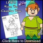 Lego Peter Pan Coloring Page by SKGaleana by SKGaleana