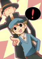 Layton and Luke:Which is Main? by RokusukeTanaka