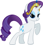 Rarity Posing by Triox404