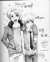 America and UK-Hetalia by MelindaPhantomhive
