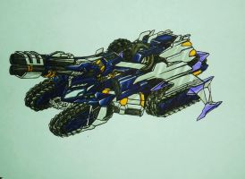 BFTE GALVATRON tank mode by kishiaku