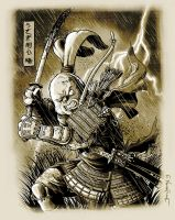 Usagi Yojimbo by JeffWelborn