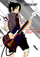 SASUKE_ROCK n ROLL by THENCHU99