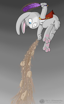 Bunny attack by Sin-R