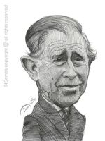 Prince Charles Caricature Sketch by StDamos