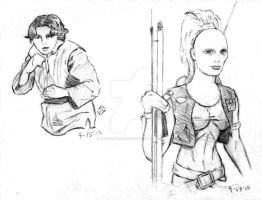 Sketchpad: TCW Bounty Hunters by JasonShoemaker