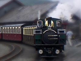 Wales Steam Train by friartuck40