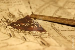 Marauder's Map by themagicofpotter