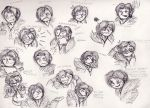The Faces of Squall's Adorkable Side by DaydreamDragon371