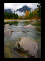 Washington  North Cascades II by mysteriumtremendum
