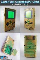 Backlit hyrule Gameboy by Thretris