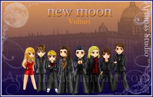 New Moon Volturi Wallpaper by ArtimasStudio