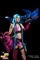 Jinx Cosplay by Thays Duarte. by ThaysDarte