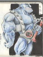 Sketchbook IV - Panthro by LaquaParla