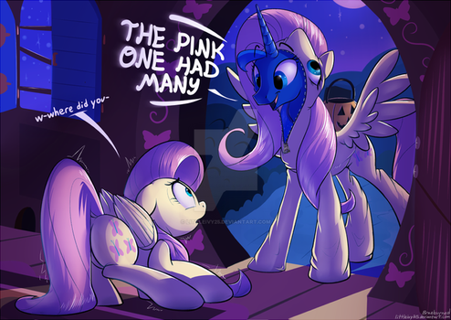 THE PINK ONE HAD MANY by Littleivy25