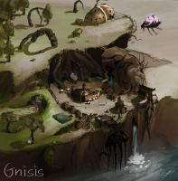 Skywind - Gnisis concept by Modexo001